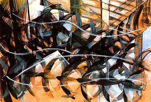 Flight of Swallows (1913) - Giacomo Balla