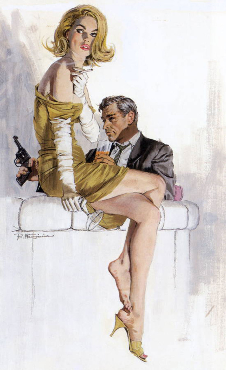 hollyhocksandtulips:  Illustration by Robert McGinnis   (via imgTumble)