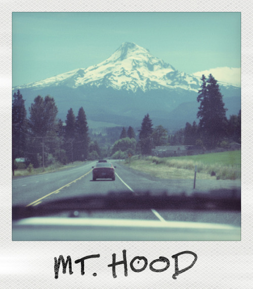 fyeahoregon:  Mt. Hood Polaroid by jrliebl on Flickr.