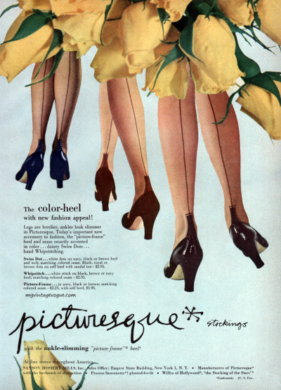 myvintagevogue:  Picturesque 1951