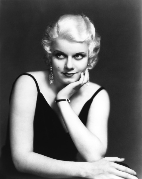 "Jean Harlow (March 3, 1911 – June 7, 1937) was an American film actress and sex symbol of the 1930s. Known as the ""Blonde Bombshell"" and the ""Platinum Blonde."" Harlow was ranked as one of the greatest movie stars of all time by the American Film Institute. Harlow starred in several films, mainly designed to showcase her magnetic sex appeal and strong screen presence, before making the transition to more developed roles and achieving massive fame under contract to MGM. Harlow's enormous popularity and ""laughing vamp"" image were in distinct contrast to her personal life, which was marred by disappointment, tragedy, and ultimately her sudden death from renal failure at age 26"