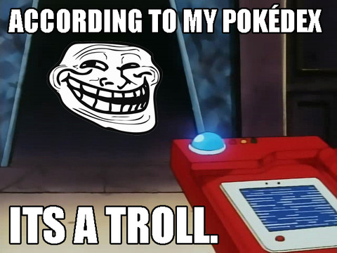 A WILD TROLL APPEARED!!
