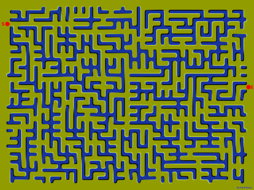 neuropsy:  Floating Maze Optical Illusion The image is static, your vision processing is not. If anyone attempts to actually do this, grab a barf bag.