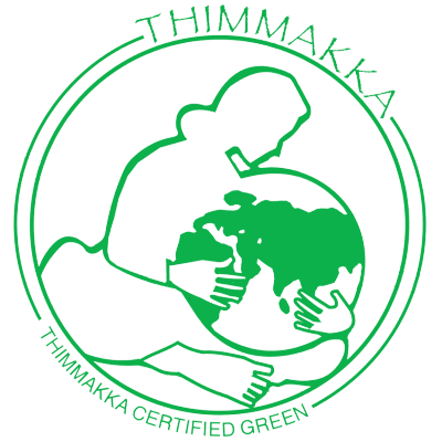 Logo for Bay Area based South Asian food justice organization Thimmakka. Unknown designer and unknown date of design.