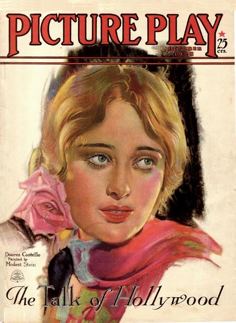 Dolores Costello cover of Picture Play magazine - 1929