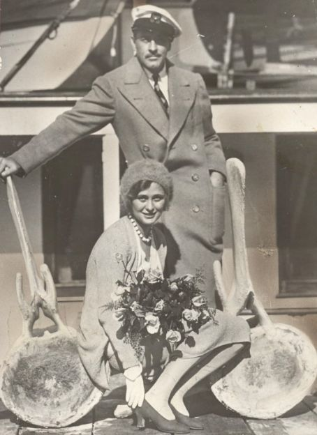 John Barrymore and Dolores Costello - c. Late 1920s