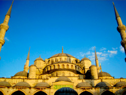 Blue Mosque, Istanbul, Turkey submitted by: post-reality, thanks!