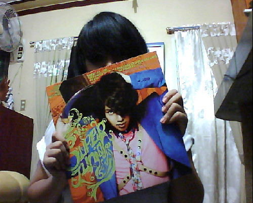 Well, this is the Mr. Simple album that I bought to support Super Junior for this year's GDA.  I can't. ;A;
