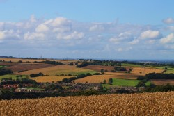 View from fields next to my house. The North East of England is beautiful. [mine]