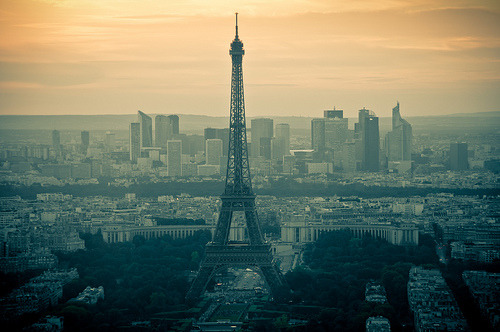 allthingseurope:  France:  Skyline From A Window (by PetterPhoto)