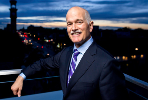 standardgrey:  douglashaddow:  RIP Jack Layton, MP from Toronto-Danforth, Leader of Her Majesty's Loyal Opposition.  so much respect.  That's certainly a bummer way to start a rainy Monday morning.