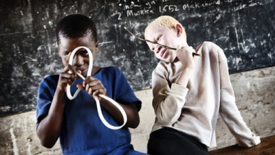 mothernaturenetwork:  Albinos in Tanzania murdered or raped as AIDS 'cure'A widespread African superstition claims that albinos' blood contains magical powers and their body parts are talismans.