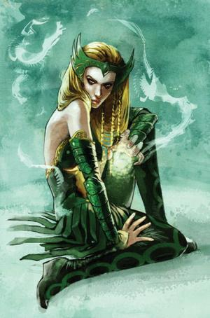 marvelwomenkickingass:  Amora the Enchantress