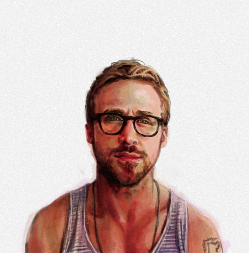 MMmmmm! Sweet Ryan Gosling (via eatsleepdraw)