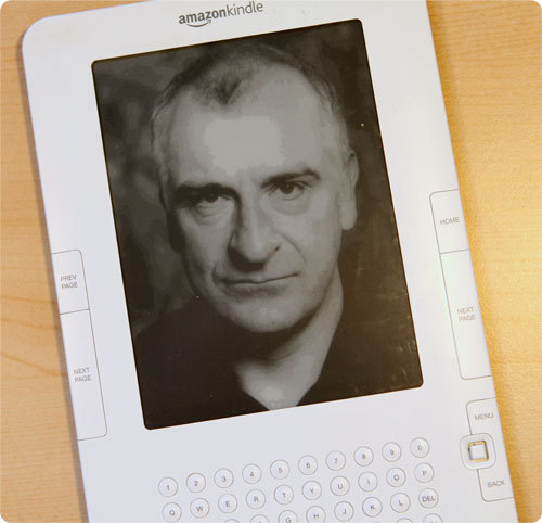 "In 2001 shortly before his death writer Douglas Adams produced a series for BBC Radio entitled the ""Hitchhikers Guide to the Future"" on how new technology will change our lives: he said in the future books would not be printed in thick black ink but in ""intangible streams of electrons we receive through the internet"". Lovers of print were simply ""confusing the plate for the food""."