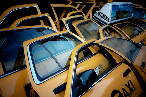 hellanne:  Cab Doors (by Anna Fayman)