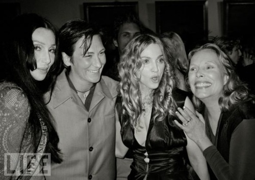 Cher, K.D. Lang, Madonna and Joni Mitchell