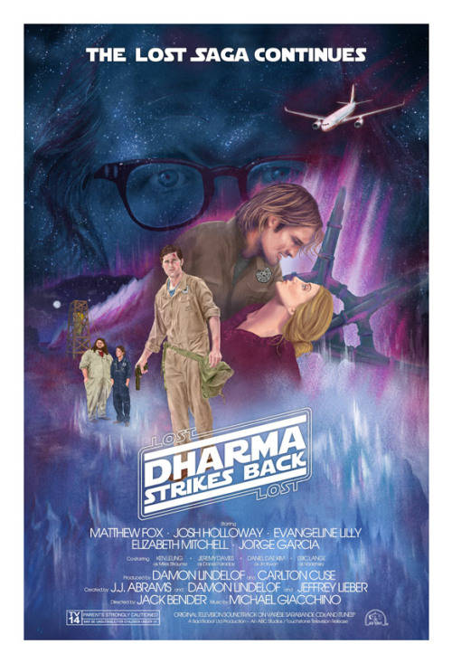 Dharma Strikes Back! (Radzinsky edition) giclee print, ltd 42, signed/numbered, on sale 8/23 11am Pacific at lostincomics.com