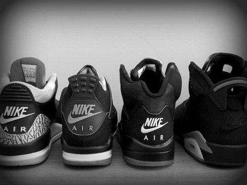 bring back the nike air, please, you were able to but NIKE on the II's, so why not the 3's, 4's, 5's, and 6's