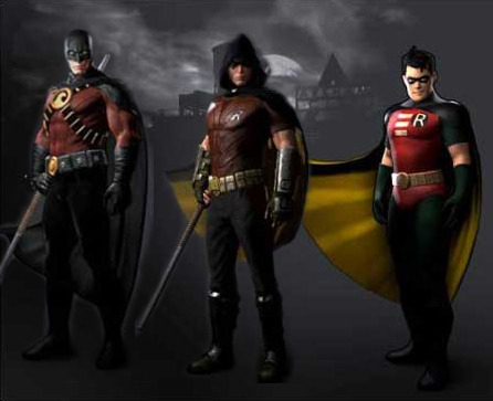 Robin/Tim Drake gets his skins.