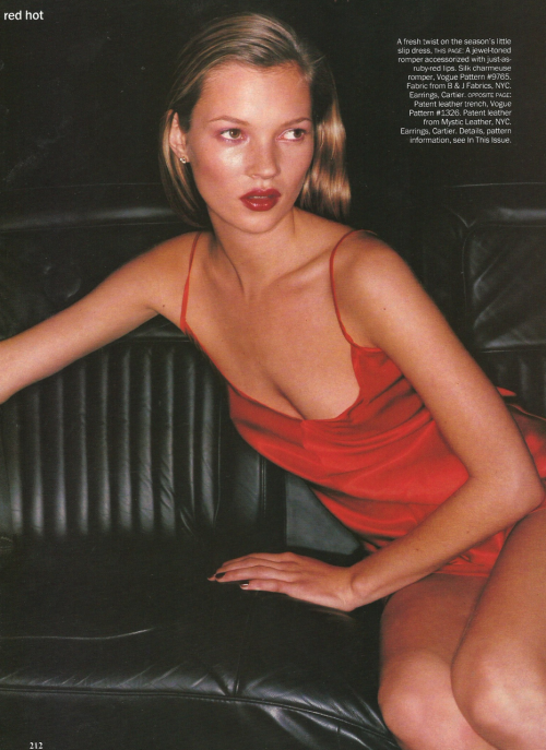 Kate Moss Vogue US June 1994