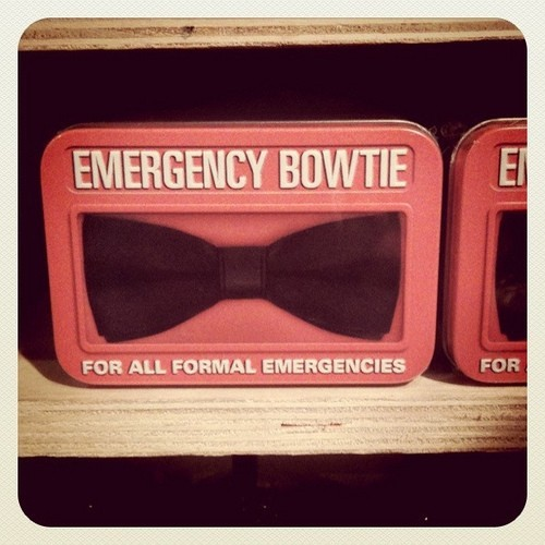 Emergency Bowtie: For the Doctor