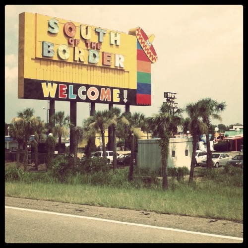 SouthOfTheBoarder (Taken with instagram)