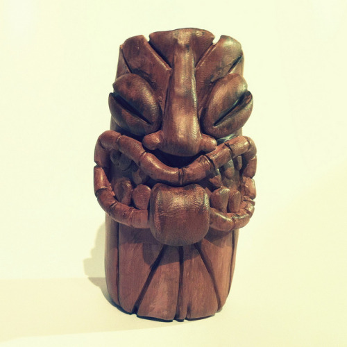 Tiki on Flickr.Via Flickr: I've sculpted this little Tiki (8cm tall) to help Help Big Kev's Geek Stuff - all their studio equipment has been stolen so it's time to dig in your pockets to help ou - ebay auction coming soon.  More information >www.octobertoys.com/forum/viewtopic.php?f=30&t=8276