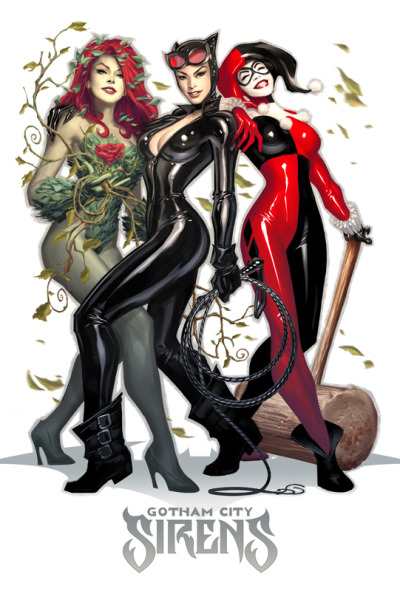 comicbooks:  Gotham City Sirens by Alex Garner