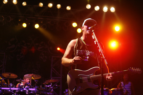 Miles Doughty of Slightly Stoopid Seedless Tour with Shwayze and Rebelution @ Sunset Cove Amphitheater in Boca Raton, Florida. *the stage was so fogged from everyone smoking that at one point I just couldn't shoot anymore! hahaha!
