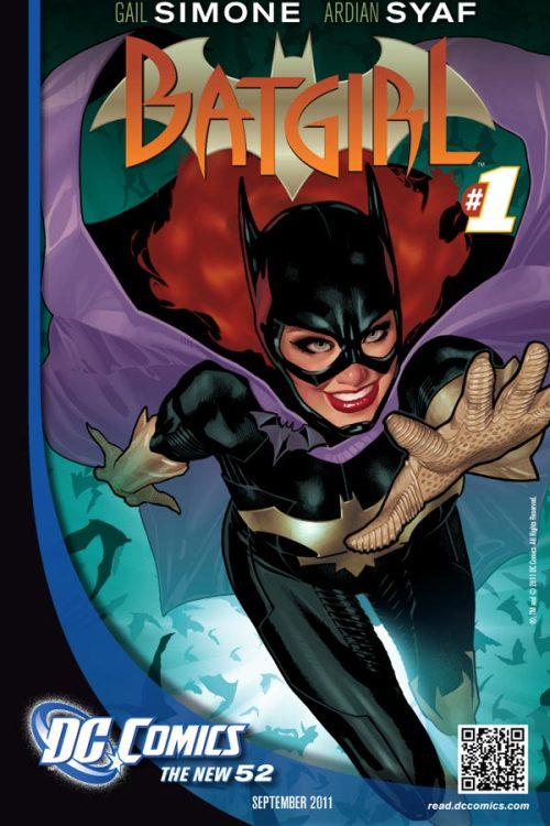 Batgirl and many other DC characters have a new logo to go with the DC relaunch. Check out all 52 at Newsarama!