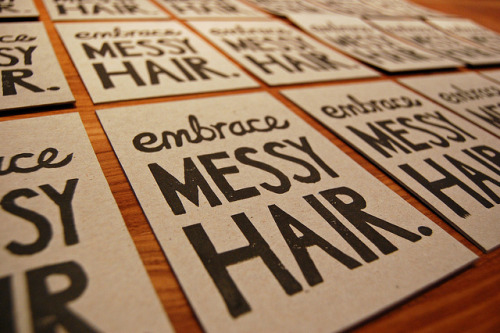 embrace messy hair by funnelcloud rachel on Flickr.