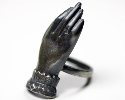 bloodmilk:  the medium. lily dale spiritualist ring. bloodmilk.