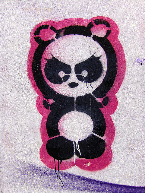 Angry panda by Dag4 on Flickr.dooppeee