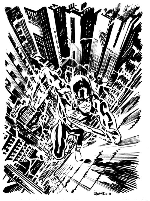 The Flash by Chris Samnee