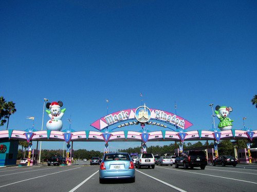 magicaldisneyworld:  Magic Kingdom Entrance on Flickr.