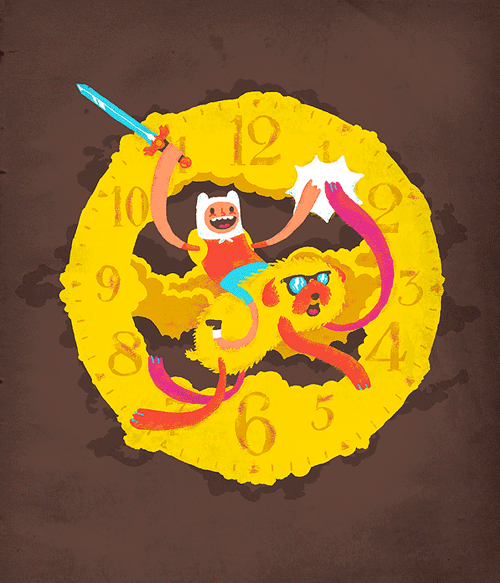 It's time! Tribute to the Adventure Time show