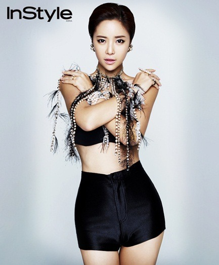 hwang jungeum, instyle korea september 2011