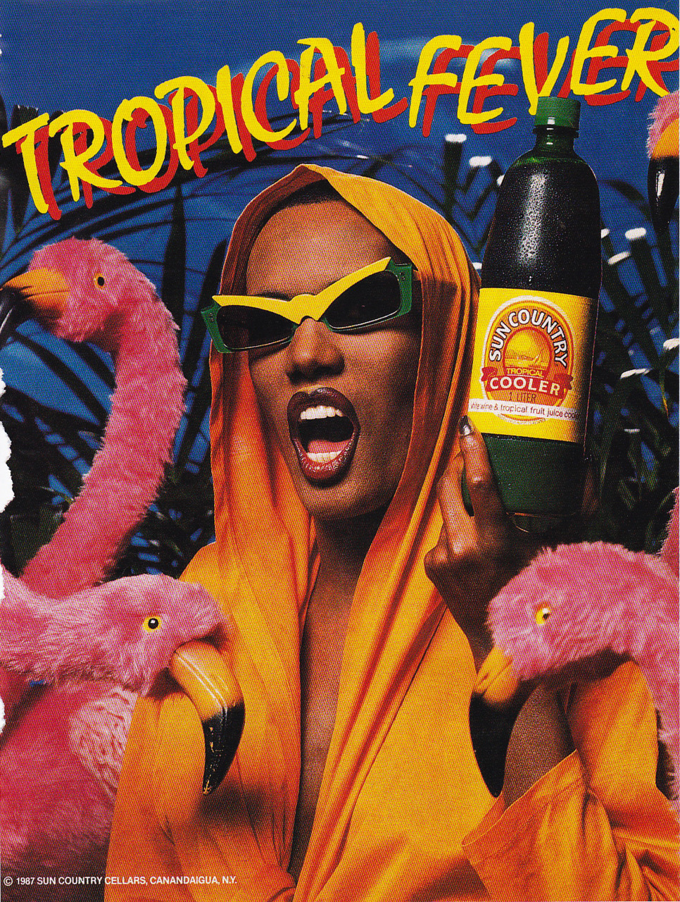 myneitherworld:  Grace Jones for Tropical Fever, 1987