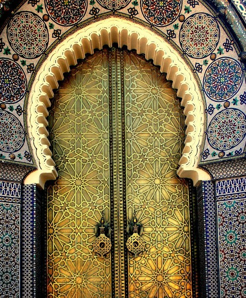 butchereddesigns:  Moroccan Door