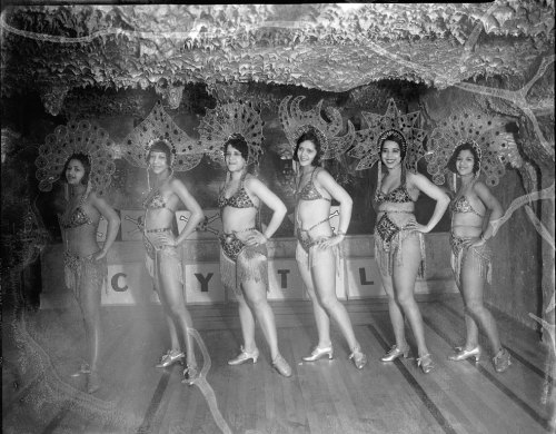 Chorines at the Crystal Caverns (1932). Photograph by the Scurlock Studio.
