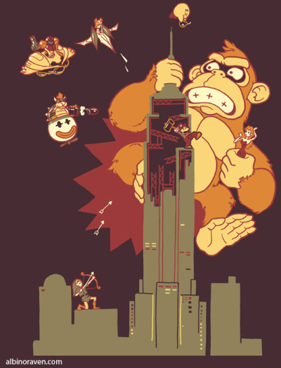 svalts:  Mighty Kong - by Glen Brogan Website | Store | Facebook