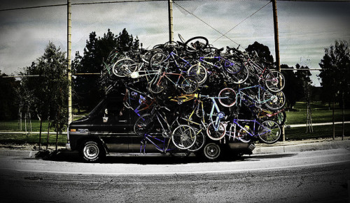 latamalera:  Got Bikes? by Ableleeskies on Flickr.