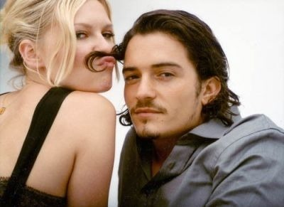 i-n-f-i-n-i-t-y:  Orlando Bloom and Kirstan dunst