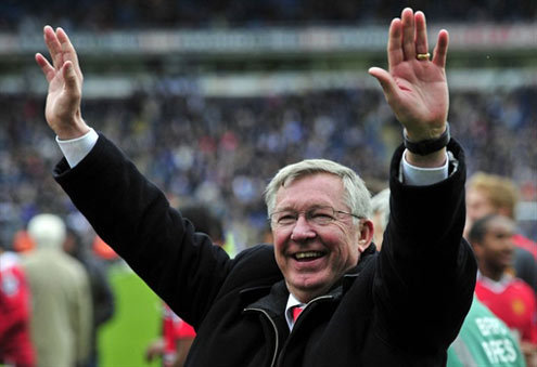 iloveunited:  Sir Alex Ferguson has been named Barclays Manager of the Month (August 2011) for an unprecedented 26th time