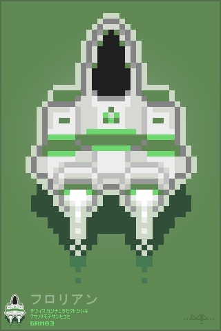 Pixel Art SHMUP tribute by darokin - GRN03