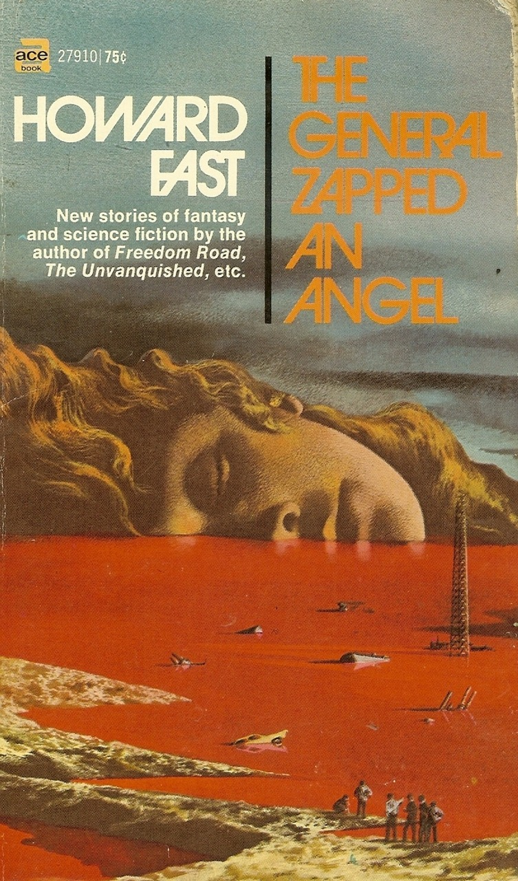 c86:  Howard Fast - The General Zapped An Angel, 1970 Artwork by Karel Thole via Cadwalader Ringgold