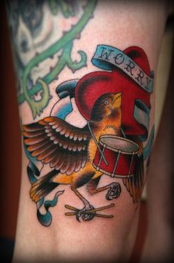tattoome:  This amazing tattoo was done by Erick Lynch of Redemption Tattoo Inc. located in Boston, Massachusetts.  You can find more of his impressive portfolio by clicking here  beautiful stuff