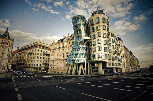 allthingseurope:  The Dancing House [Prague, Czech Republic] (by elbelbelb2000)   Submitted via Canucks-at-heart