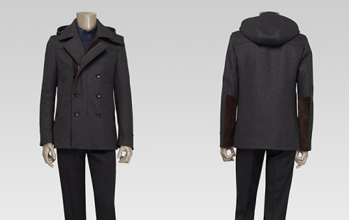 Gucci - Hooded Peacoat